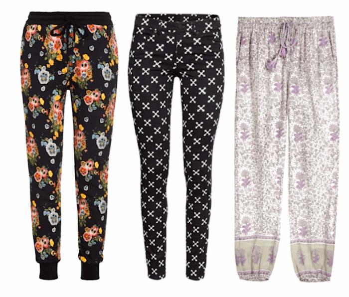 Spring Trends 2015-Printed Pants