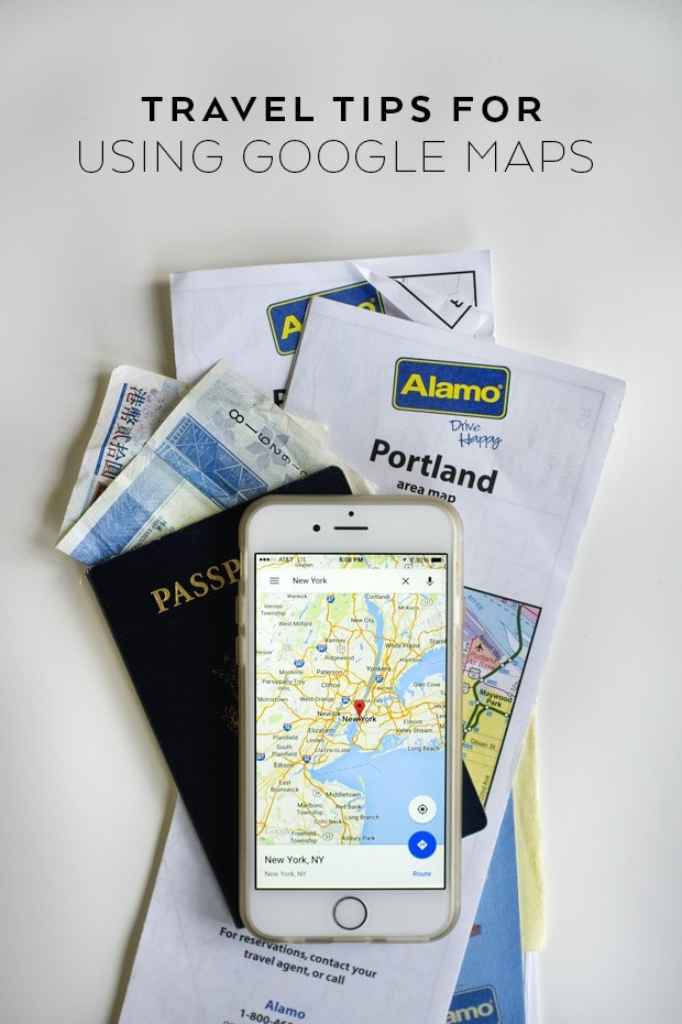 Travel Tips with Google Maps via Kelly Purkey