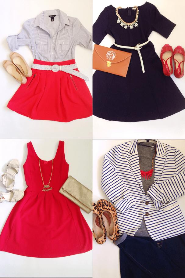 Fashion Capsule Outfits
