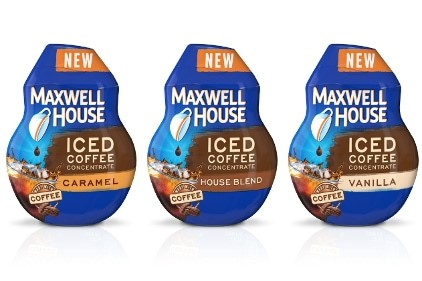 Maxwell House Iced Coffee Concentrates