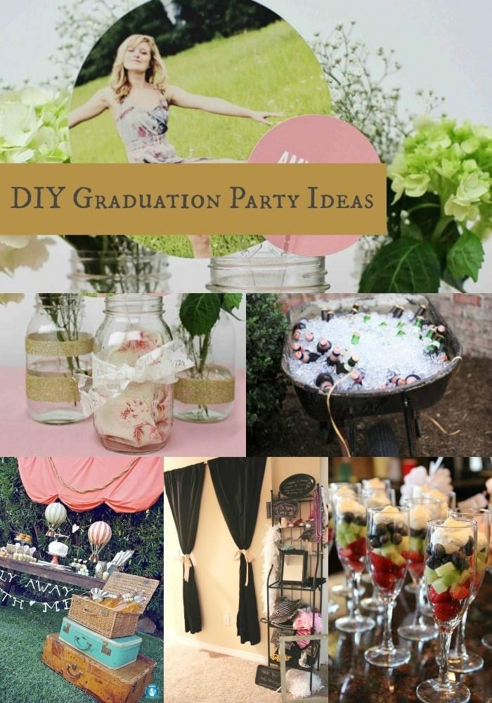 diy graduation party ideas momadvice