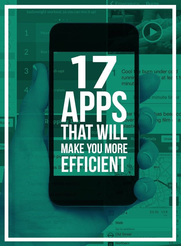 Efficiency Apps via Buzzfeed