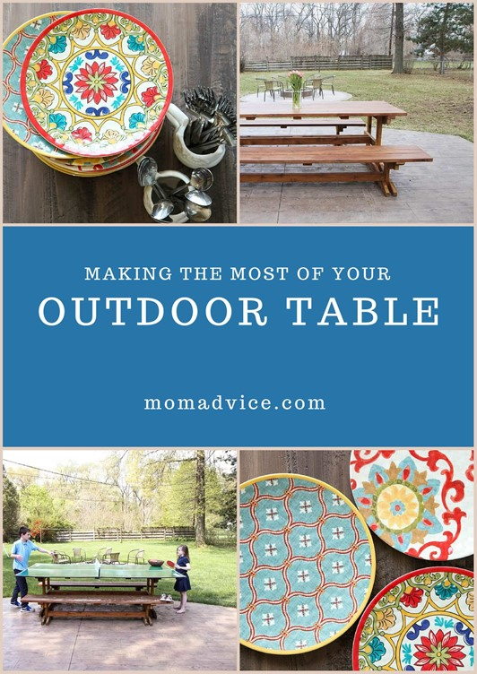 Making the Most of Your Outdoor Table (GIVEAWAY!!)