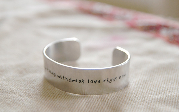Personalized Cuff Bracelets