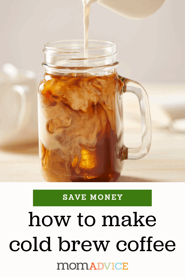 DIY Cold Brew Coffee Recipe - MomAdvice