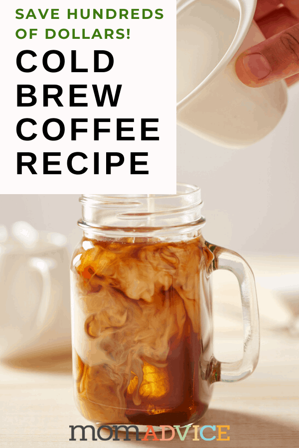 DIY Cold Brew Coffee from ALDI Ground Coffee