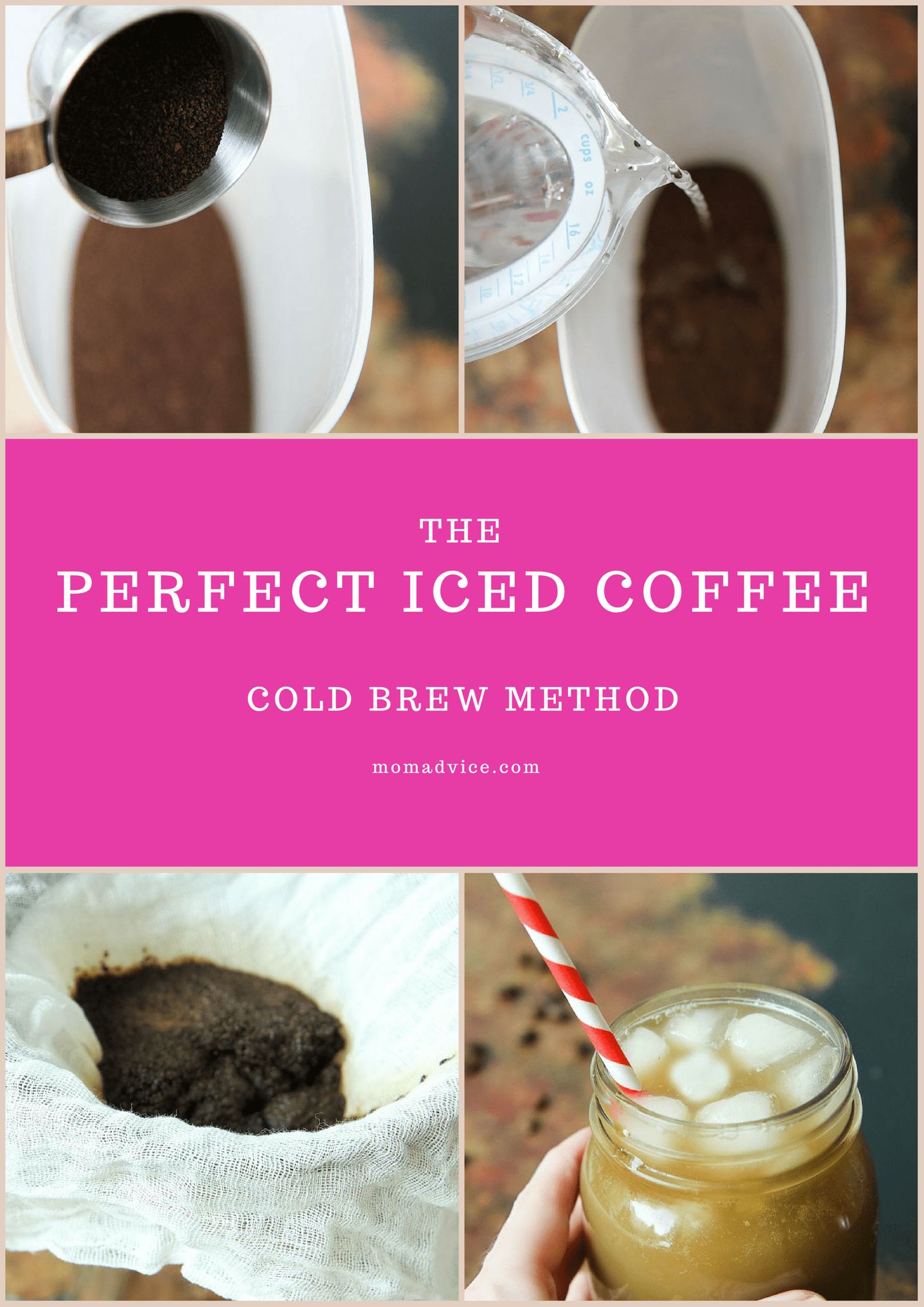 How to Cold Brew Coffee from MomAdvice.com