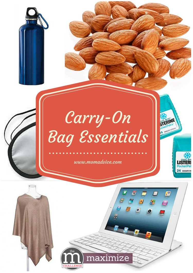 Carry-On Bag Essentials Ideas from MomAdvice.com