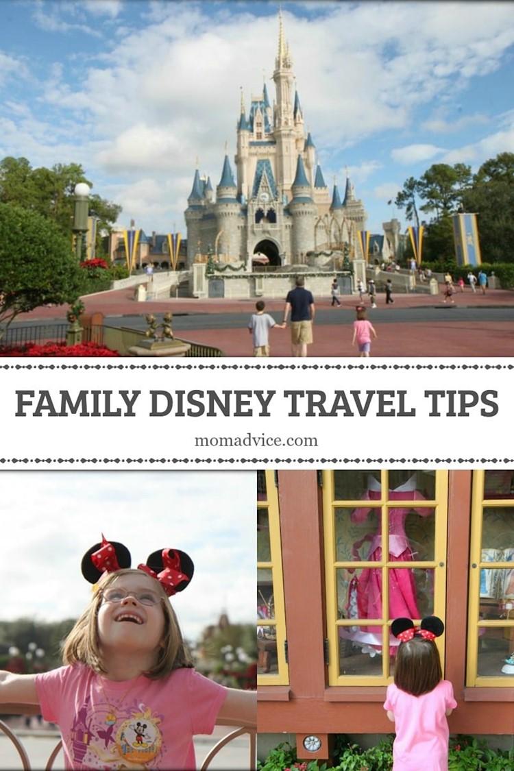 Family Disney Travel Tips on MomAdvice.com