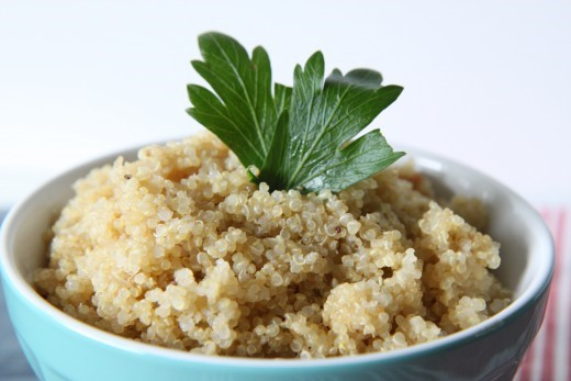 Easy Rice Cooker Quinoa
