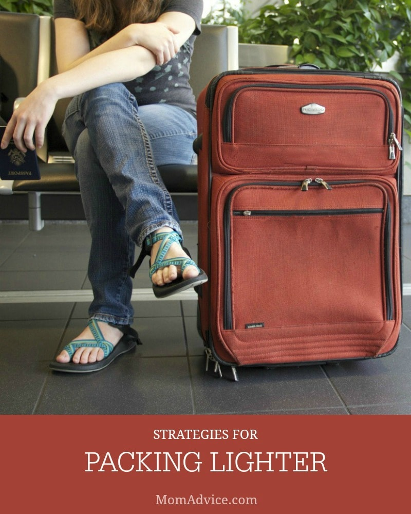 Strategies for Packing Lighter
