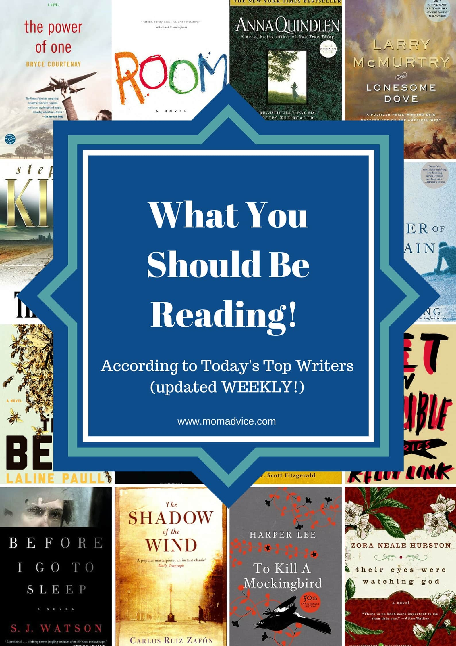 what the world s top authors say you should be reading updated what the world s top authors say you should be reading updated weekly momadvice