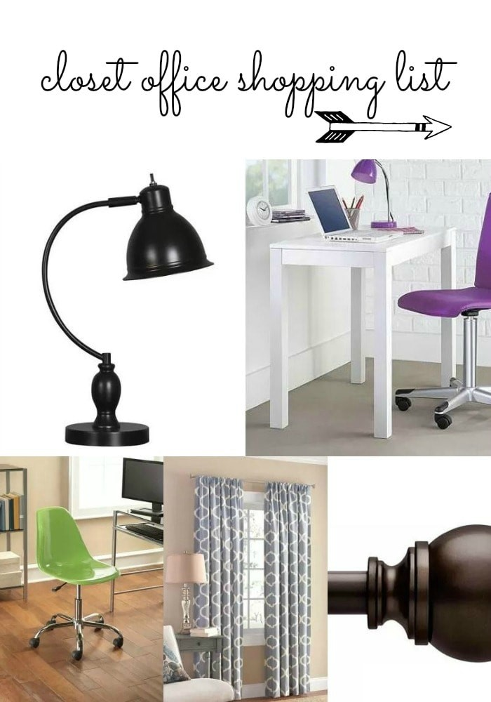 How to Make a Closet Office For Under $200 from MomAdvice.com.