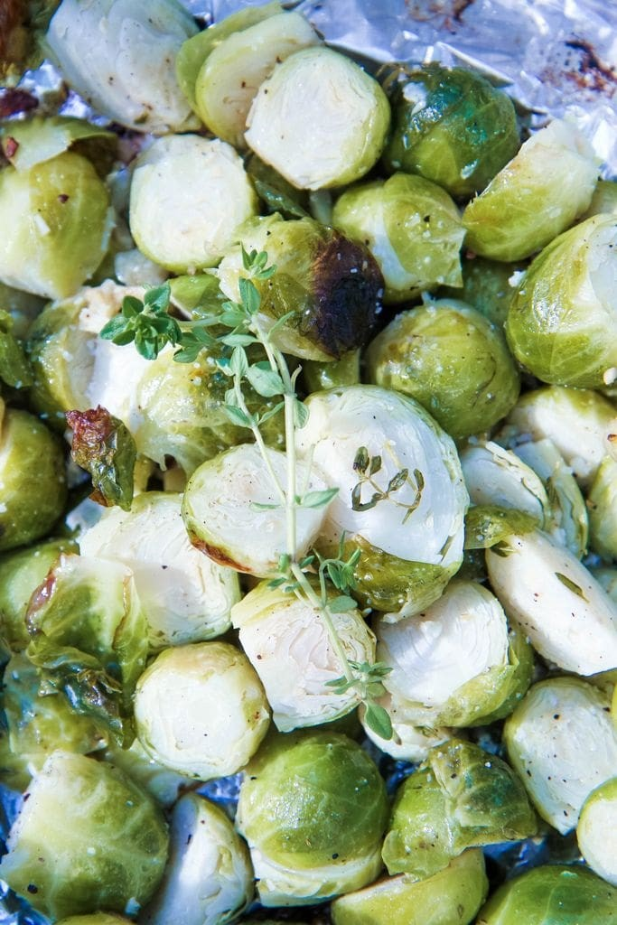 Grilled Brussels Sprouts from MomAdvice.com