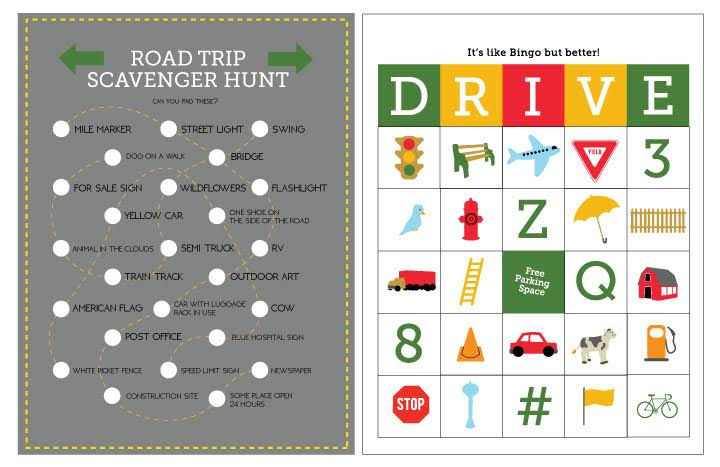 free printable travel games from momadvicecom