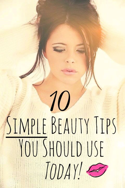 10 Simple Beauty Tips