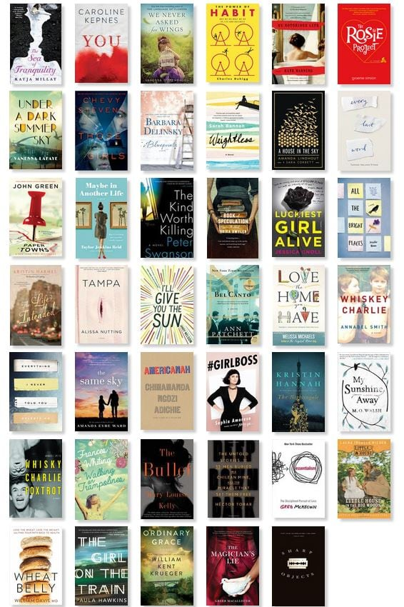 2015 Best Books to Read List
