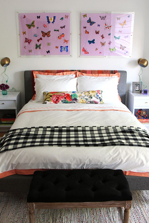 Bedroom Inspiration via LittleGreenNotebook