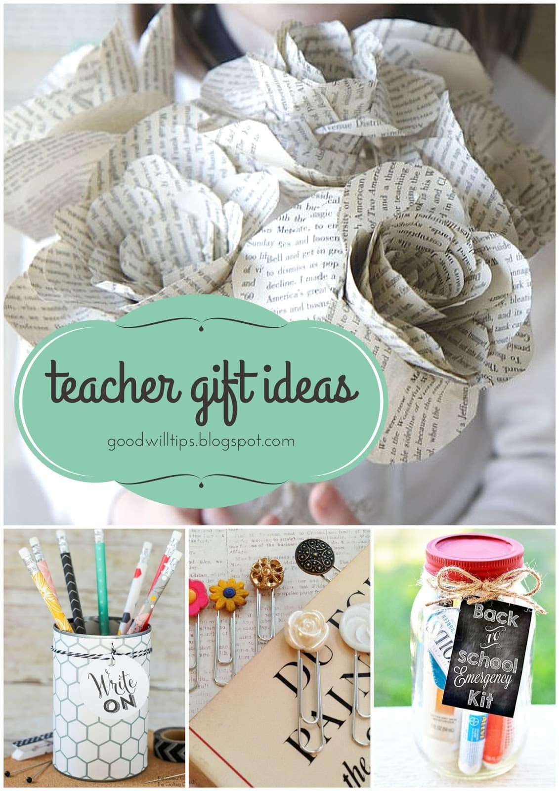 Great Teacher Gifts on Small Budgets from MomAdvice.com
