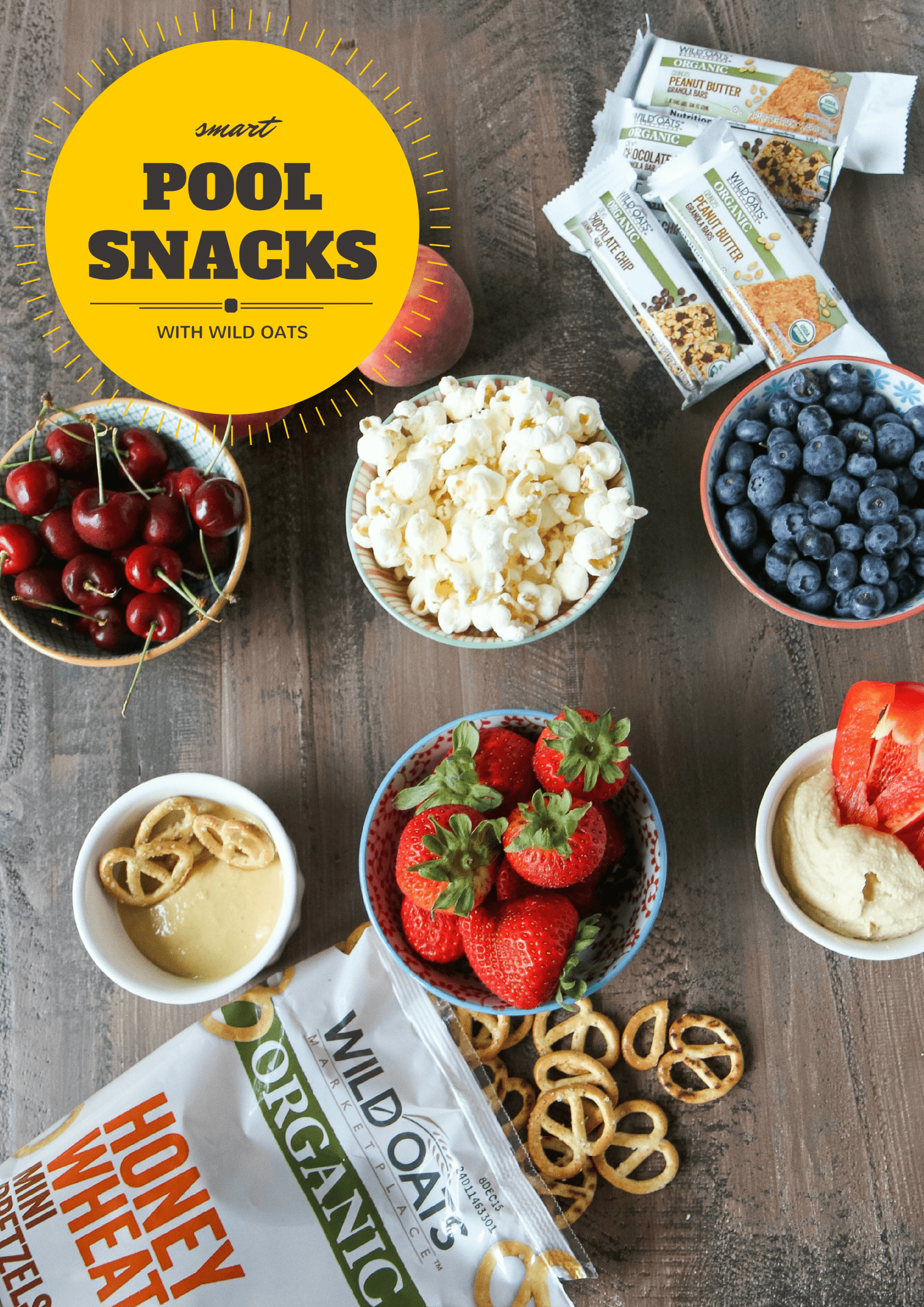 Smart Pool Snack Ideas from MomAdvice.com