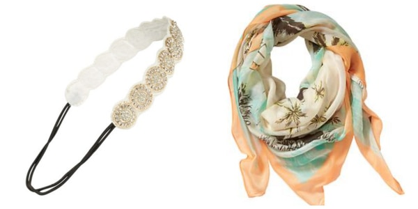 Summer beauty tips hair accessories