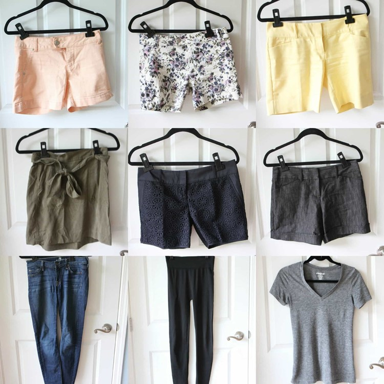 Summer 2015 Fashion Capsule Wardrobe Project from MomAdvice.com