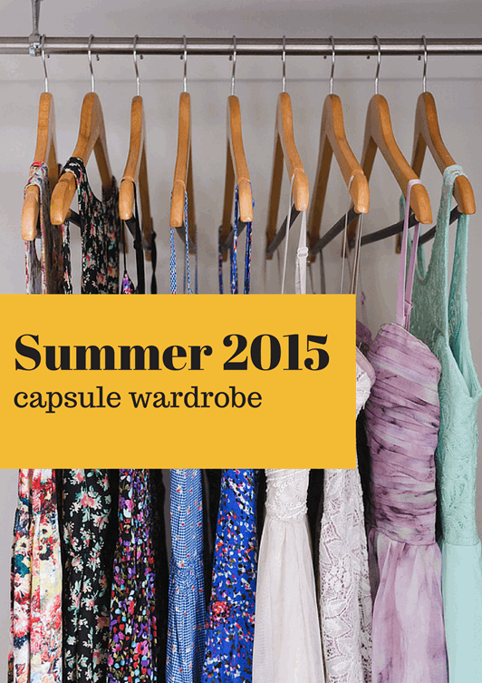 Summer 2015 Fashion Capsule Wardrobe Project