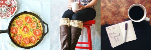 It's the 3 Little Things: Frittatas, Boot Cuffs, & ...