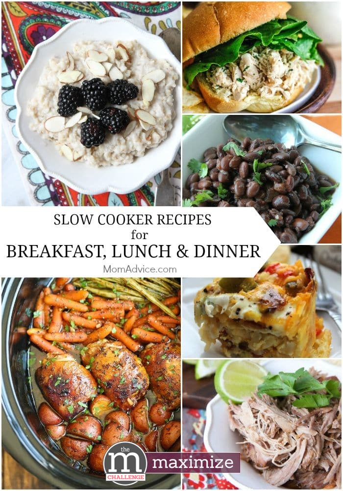 Slow cooker recipes for breakfast lunch dinner momadvice slow cooker recipes for breakfast lunch and dinner forumfinder Gallery