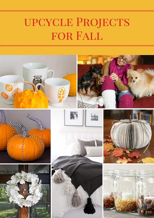 7 Easy Upcycle Projects for Fall