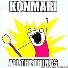 Konmari Funny