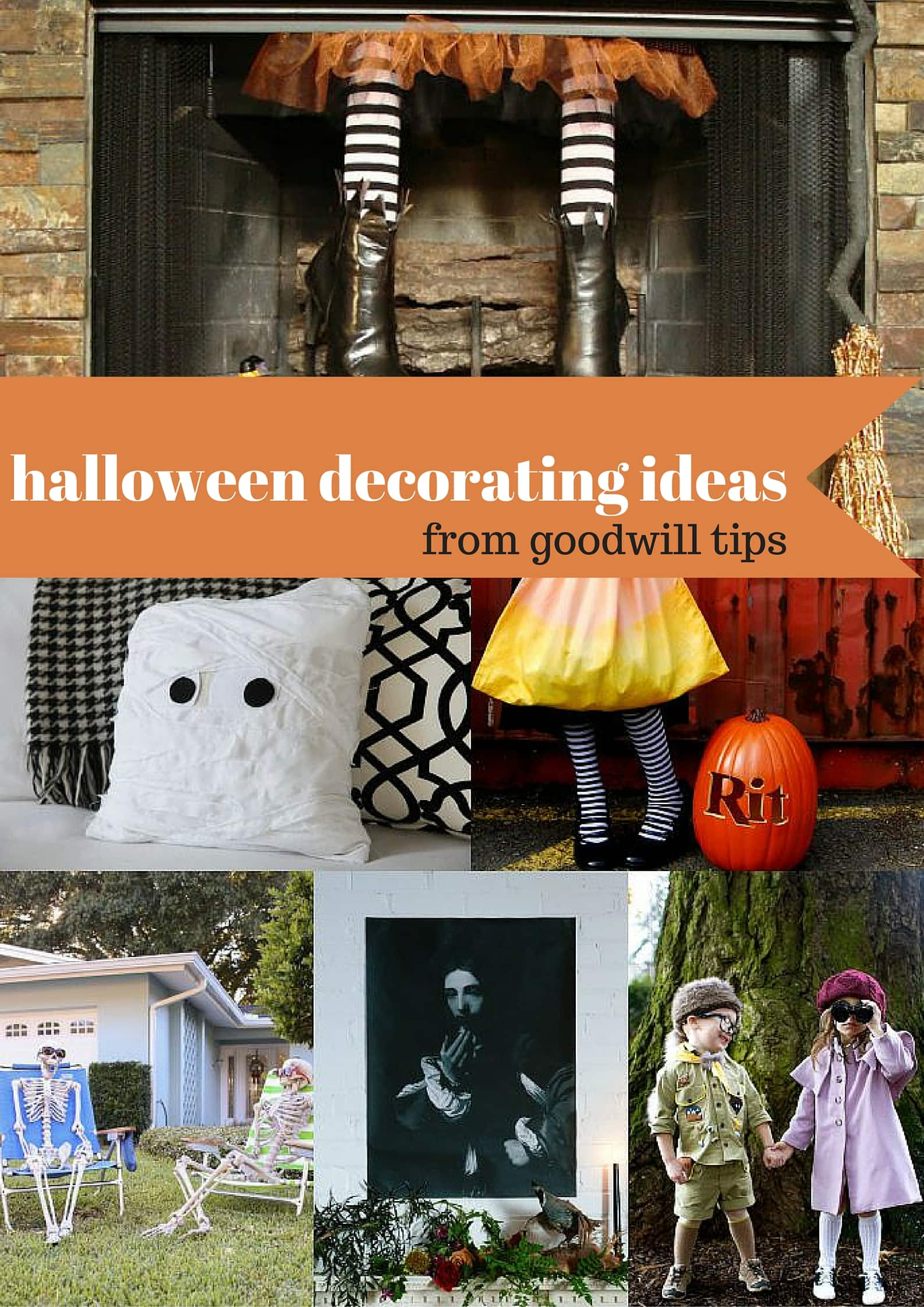 6 Festive Halloween Decorating Ideas from MomAdvice.com