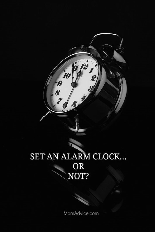 M Challenge Mornings Morphosis: Set An Alarm or Not?