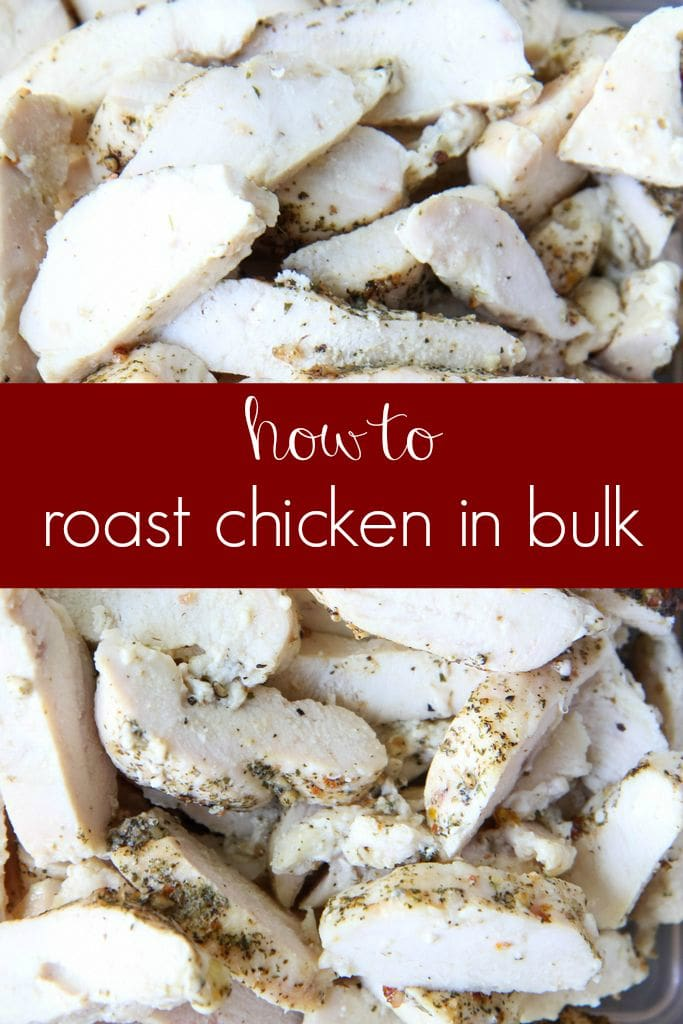 Make-Ahead Tutorial: Roast Chicken In Bulk For Your Week from MomAdvice.com