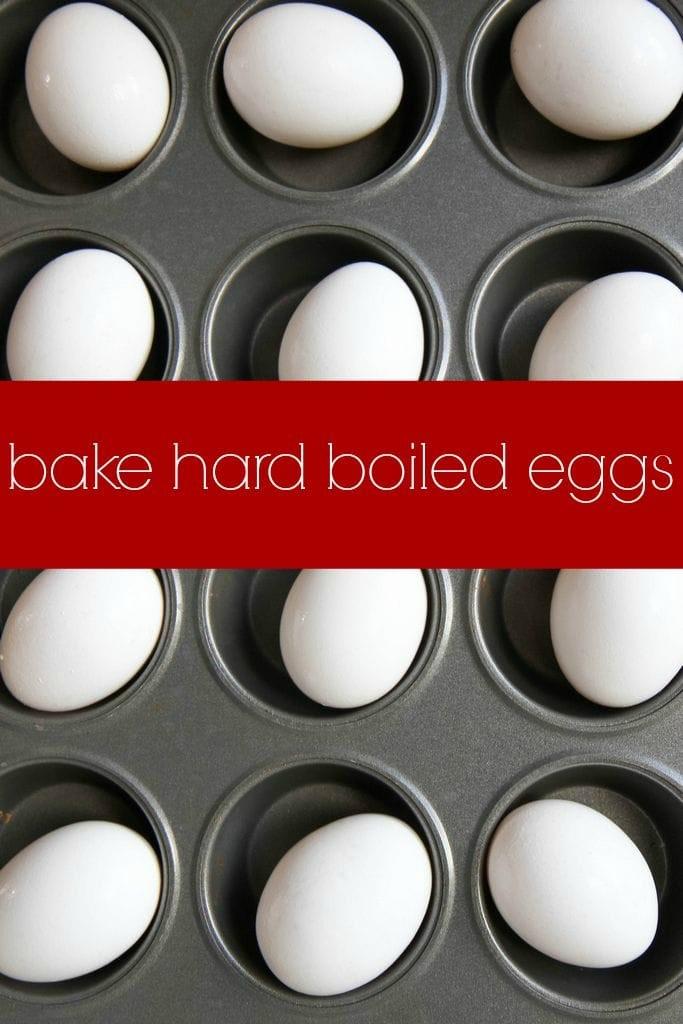 Bake Hard Boiled Eggs MomAdvice.com