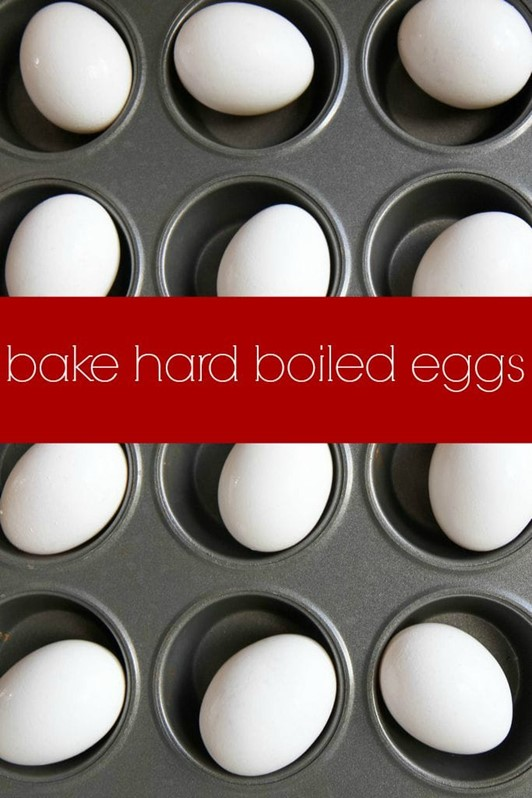 Make-Ahead Tutorial: Bake Hard Boiled Eggs