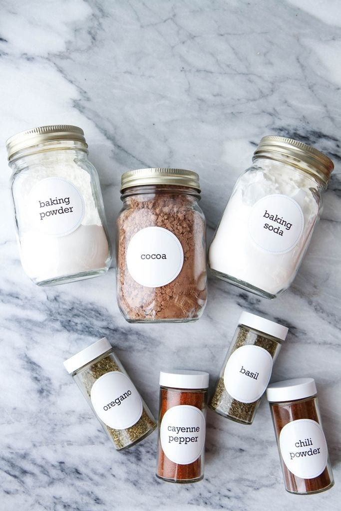 Organize Your Spice Rack (FREE PRINTABLES!!) from MomAdvice.com