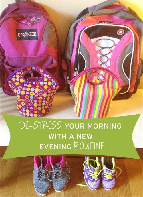 De-stress school day mornings via Simplify 101