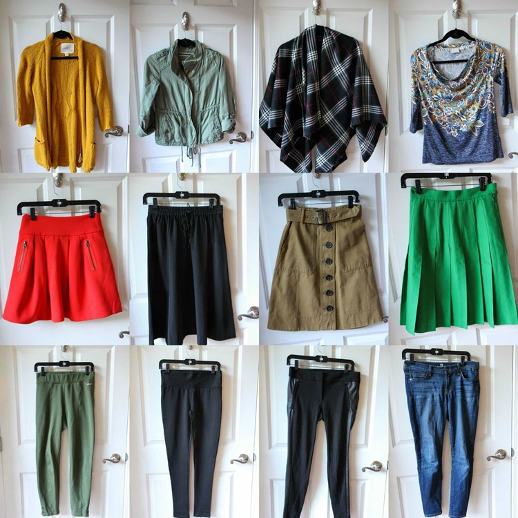 Fall 2015 Fashion Capsule Wardrobe Project