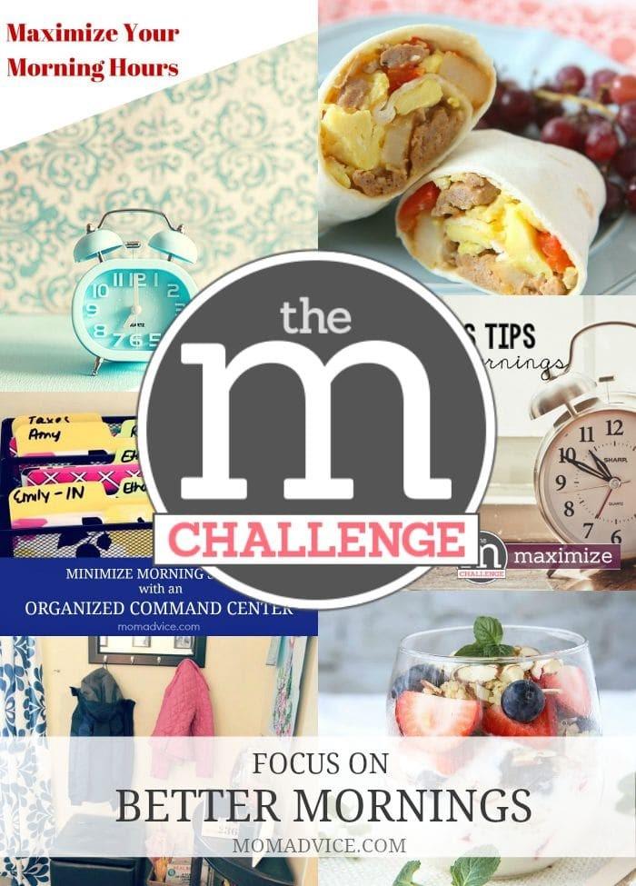 M Challenge Focus on Better Mornings Guide