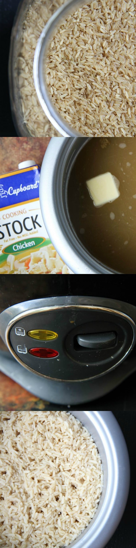 Make-Ahead Brown Rice