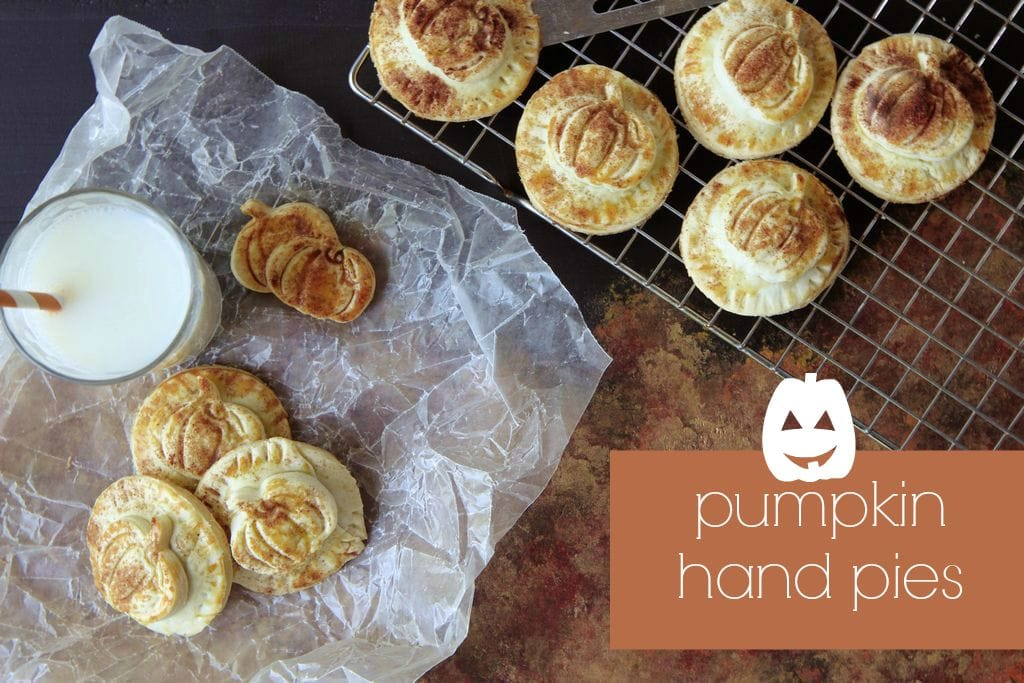 How to Make Pumpkin Hand Pies from MomAdvice.com