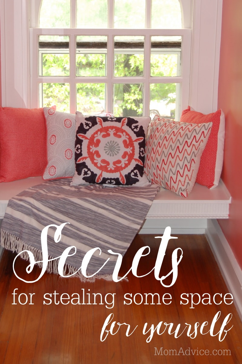 Secrets to Stealing Some Space for Yourself