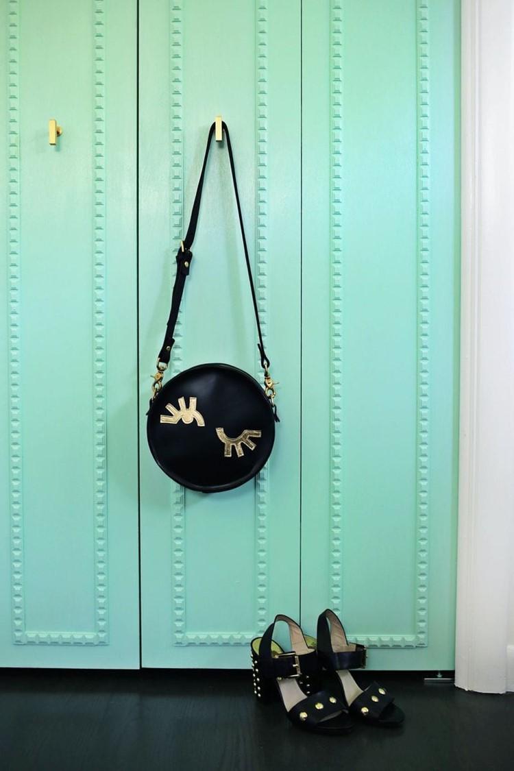customizing closet doors via A Beautiful Mess