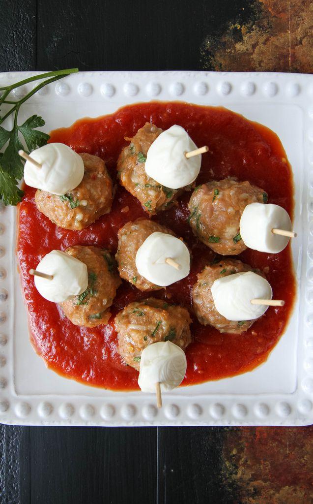 Gluten-Free Meatball Sub Appetizer
