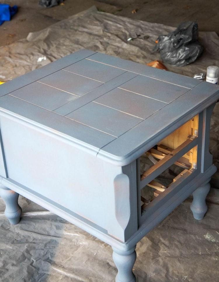 How to Spray Paint Furniture Priming