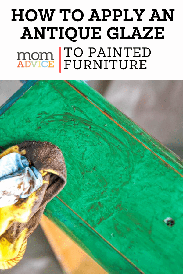 How to Spray Paint Furniture Antique Glazing