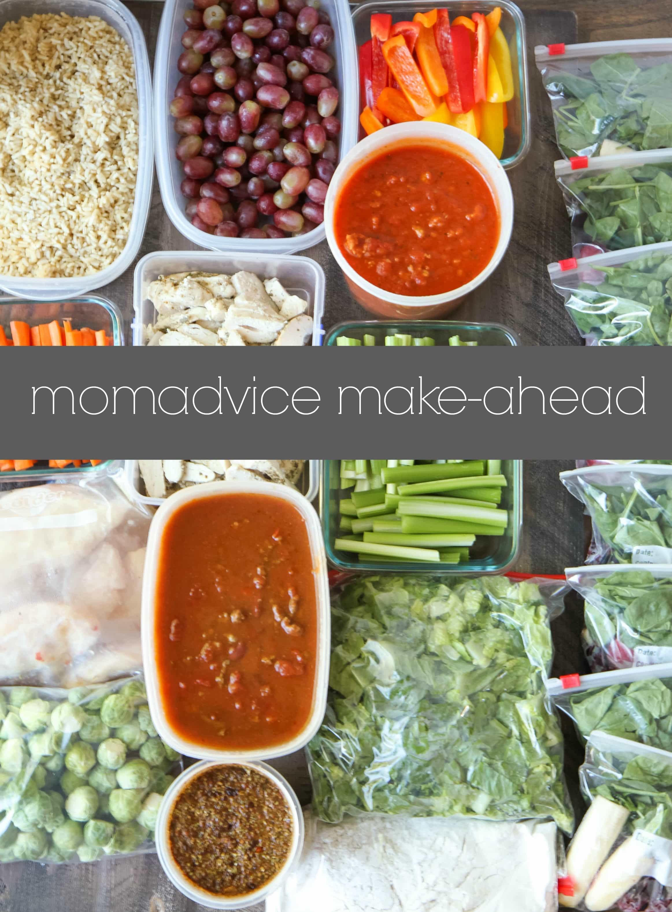 The MomAdvice Make-Ahead (Week 5)