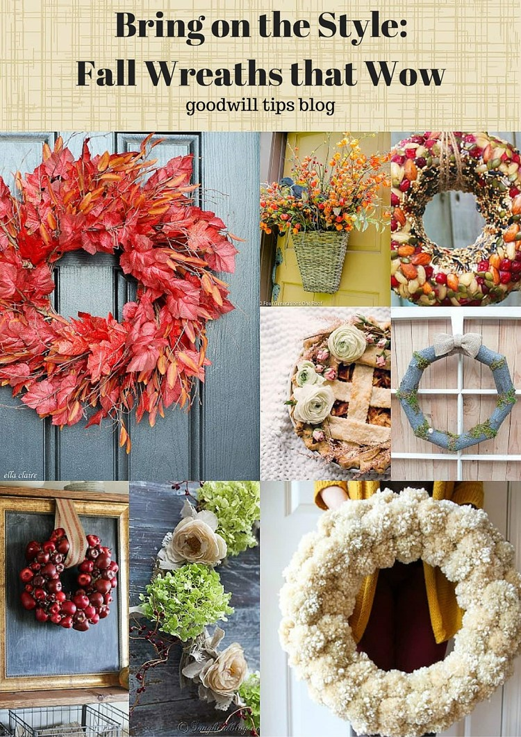 Fall Wreaths That Wow from MomAdvice.com