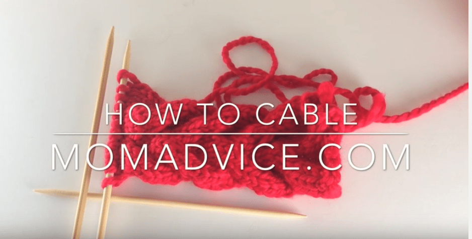How to Cable: Free Knitted Ear Warmers Pattern from MomAdvice.com